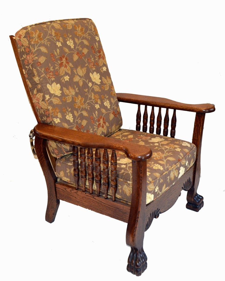 vintage morris chair morris chair recliner for at 1stdibs 3249