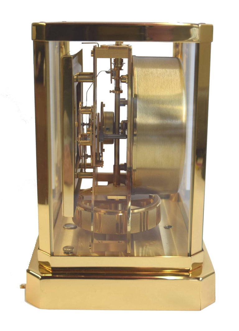 Jaeger Lecoultre Atmos Perpetual Motion Mantle Clock At