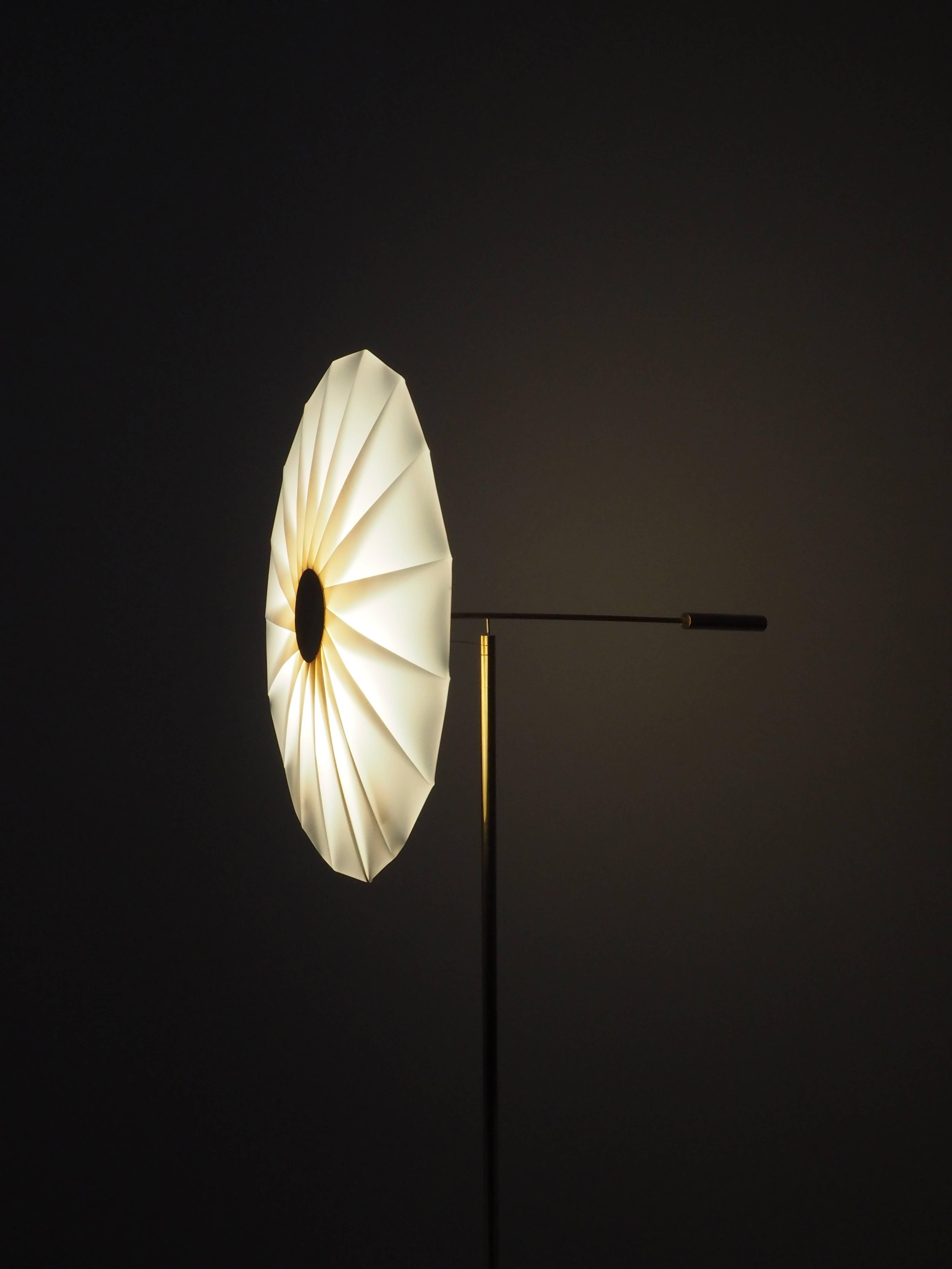 Brass Bloom, Floor Lamp, Umut Yamac For Sale at 1stdibs