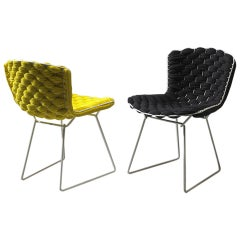 Original Bertoia Side Chairs Revisited by Clément Brazille