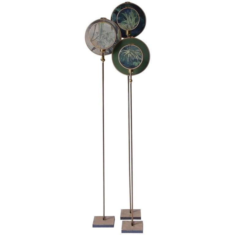 Ensemble of Three Floor Lamps, Sander Bottinga