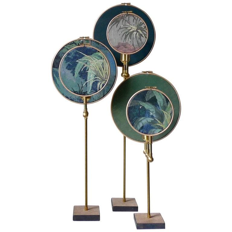 Ensemble of Three Table Lamps, Sander Bottinga For Sale