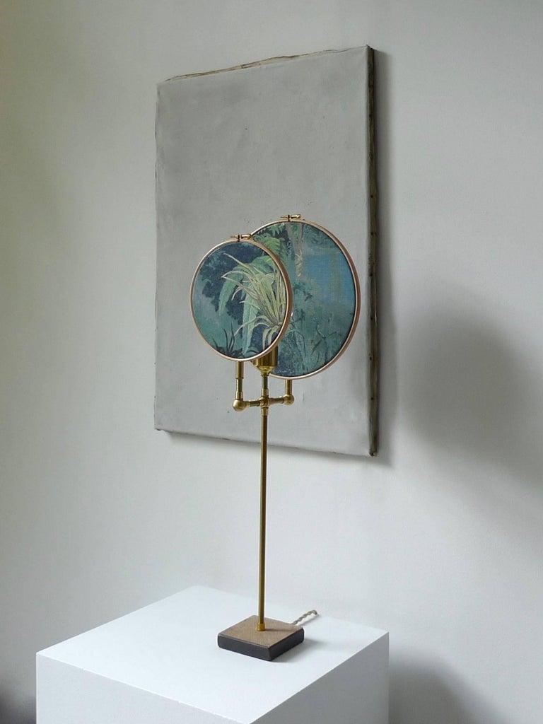 Dutch Ensemble of Three Table Lamps, Sander Bottinga For Sale