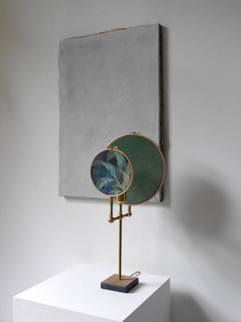 Contemporary Ensemble of Three Table Lamps, Sander Bottinga For Sale