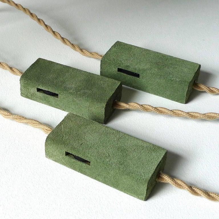 Ensemble of Three Table Lamps, Sander Bottinga For Sale 3