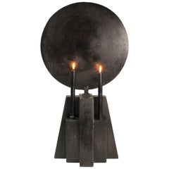 Burned Patinated Candleholder, Arno Declercq