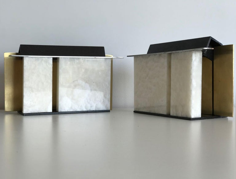 Contemporary Isabene Pair of Lights, Table Lamps, Signed Isabella Garbagnati For Sale