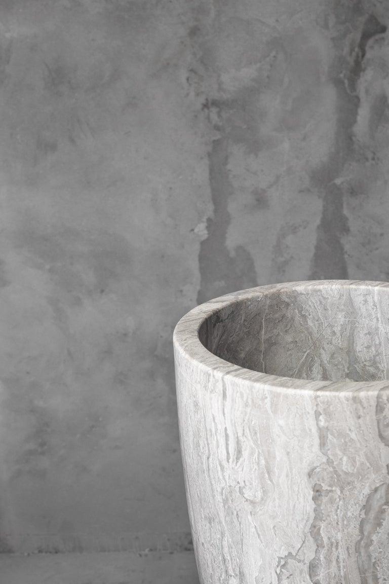 Modern Babel Marble Vase, Arno Declercq For Sale