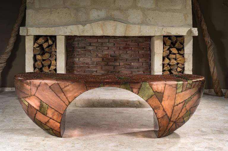 Unique Design Desk, French Designer Charly Bounan For Sale 4