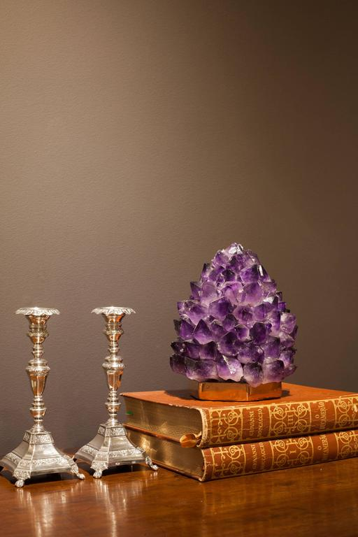 Organic Modern Unique Amethyst Lighting