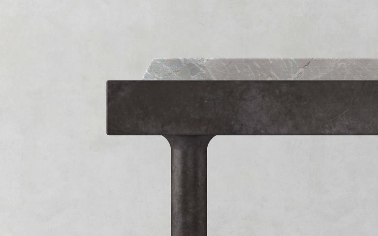 Marble Console by Francesco Balzano, Now Alberto 2
