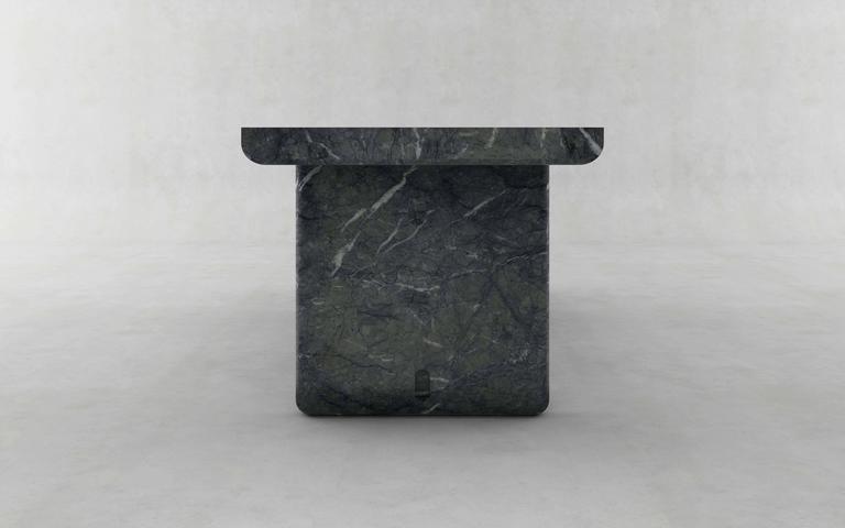 Green Marble Desk, Francesco Balzano, M13 2