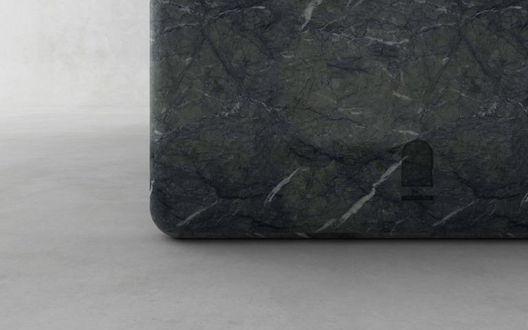 Green Marble Desk, Francesco Balzano, M13 3