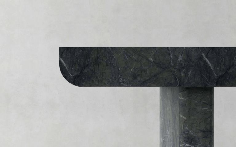 Green Marble Desk, Francesco Balzano, M13 4