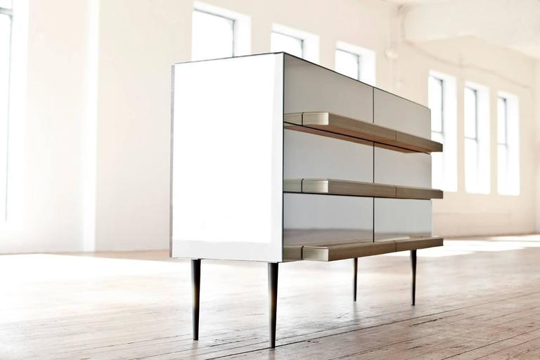 Steel Illusion Drawers, Luis Pons For Sale