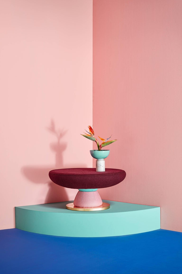 Post-Modern Toadstool Collection, Colorful Coffee Table, Masquespacio For Sale