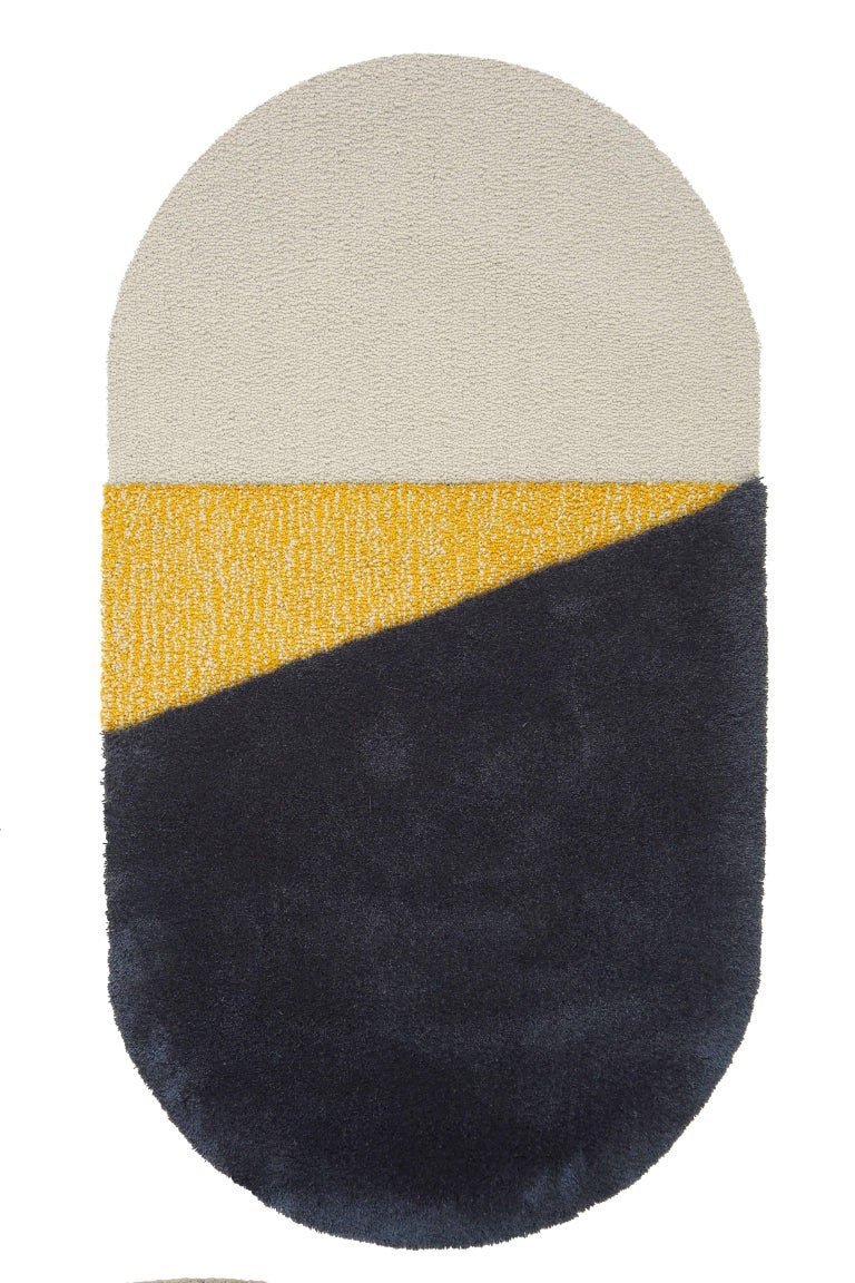 Oci Rug Triptych, Designed by Seraina Lareida For Sale 1