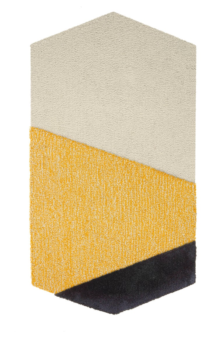 Contemporary Oci Rug Triptych, Designed by Seraina Lareida For Sale