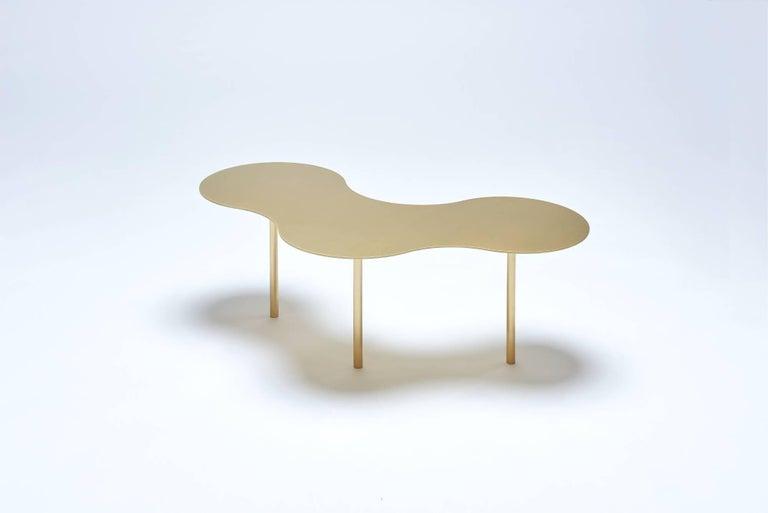 Brass Coffee Table Ensemble of 3, Sebastian Scherer 4