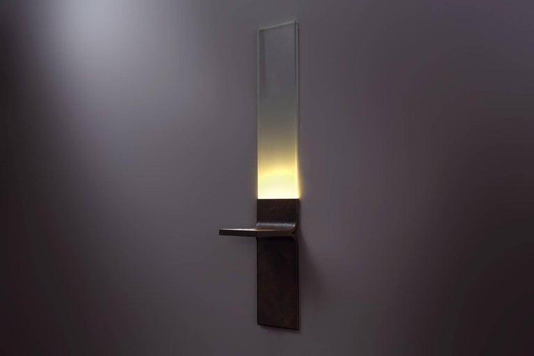 Canadian Monolith, Starfire Glass Lighting, Luvere Studio For Sale