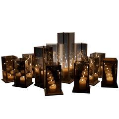 Original 12 Candleholders Set, Kaleido, Arturo Erbsman