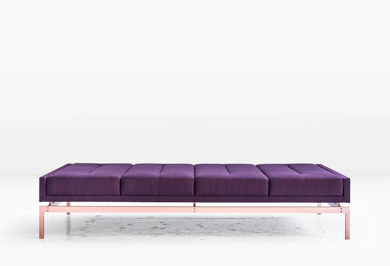 Olivera chaise longue or daybed or bench purple danish for Chaise longue day bed