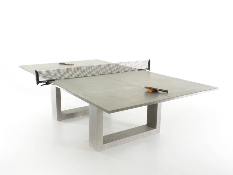 James De Wulf Standard Concrete Ping Pong Table For Sale At 1stdibs