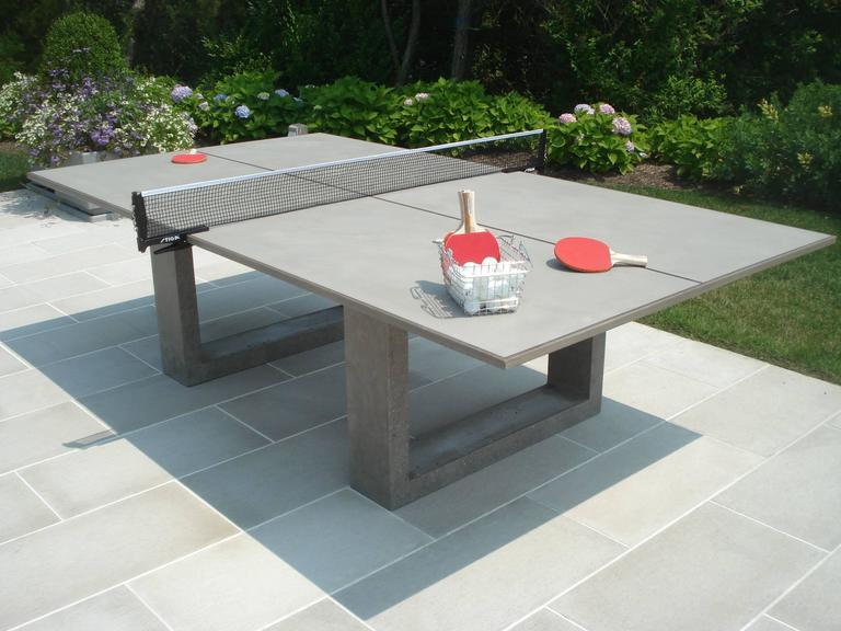 James De Wulf Standard Concrete Ping Pong Table For Sale
