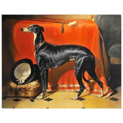 Painting of Eos after Sir Edwin Landseer