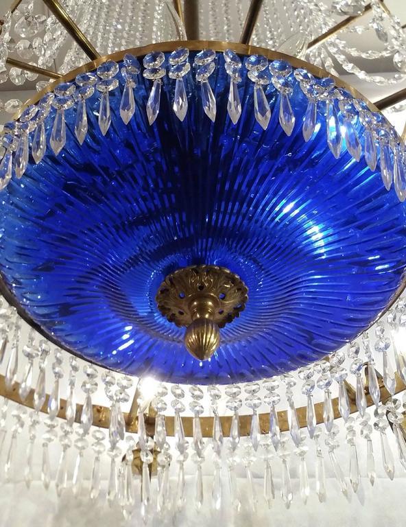20th Century Regency Style 'Baltic' Chandelier For Sale 2