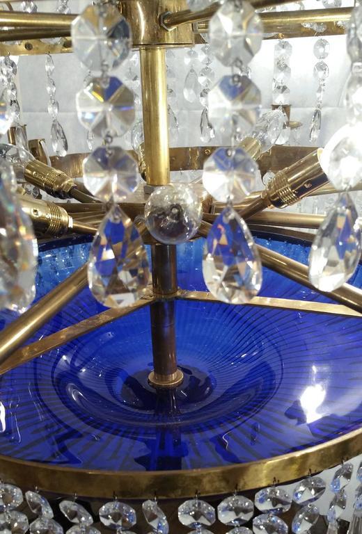 20th Century Regency Style 'Baltic' Chandelier For Sale 4