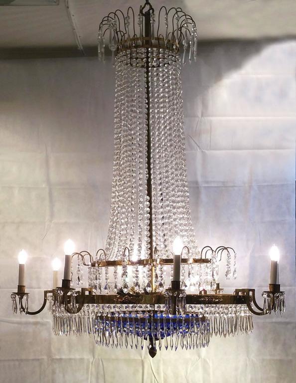 20th Century Regency Style 'Baltic' Chandelier For Sale 5