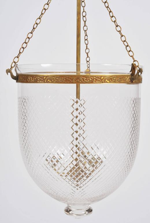 Large Storm Lantern With Brass Fittings For Sale At 1stdibs