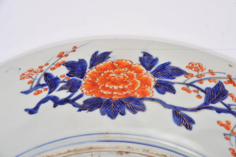 19th Century Oversized Imari Charger For Sale 2
