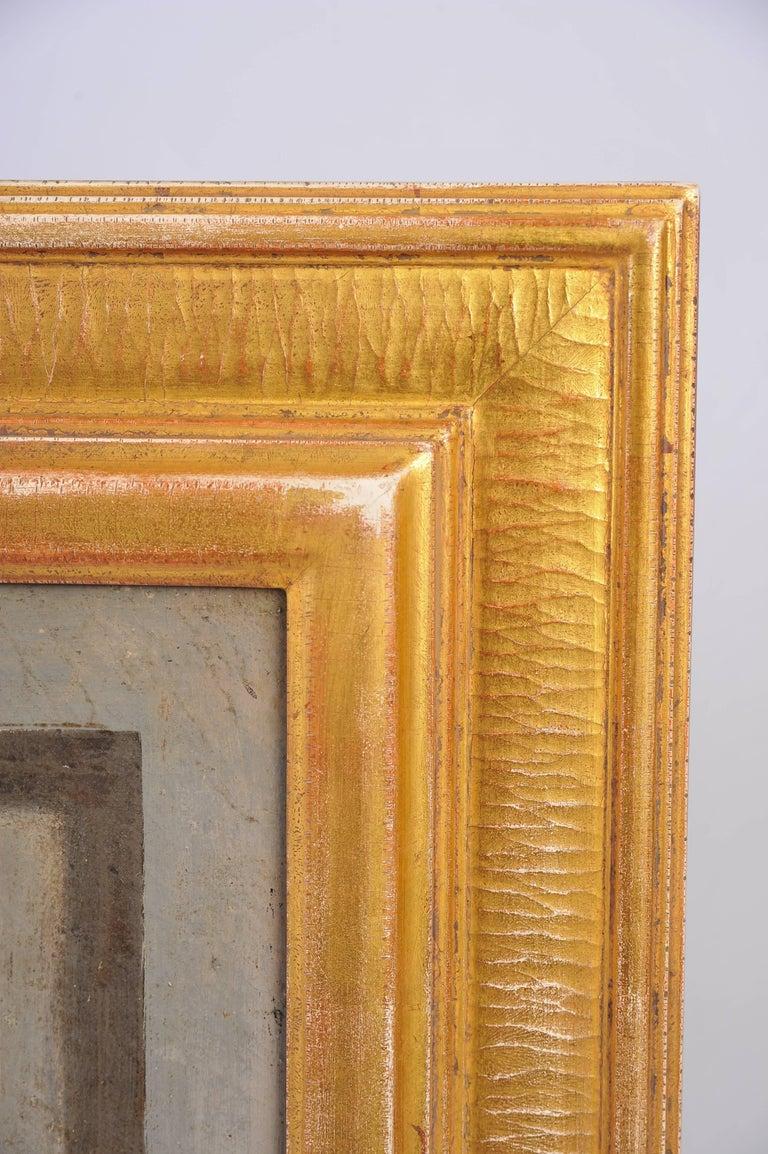 18th Century Trompe-l'œil Cherub Painting For Sale 2