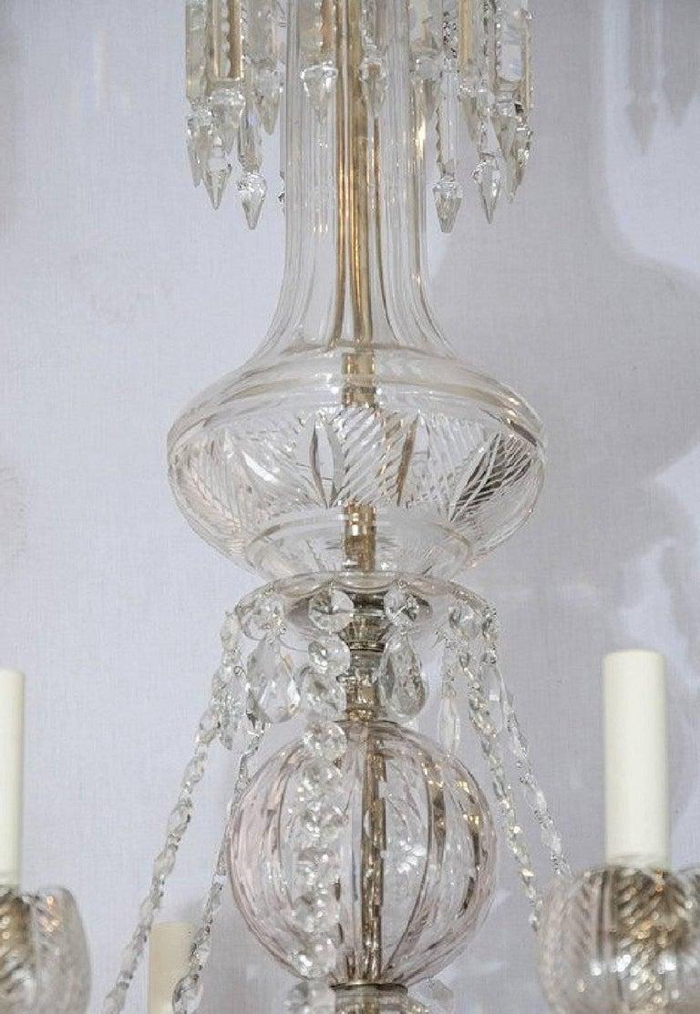 Large regency style chandelier