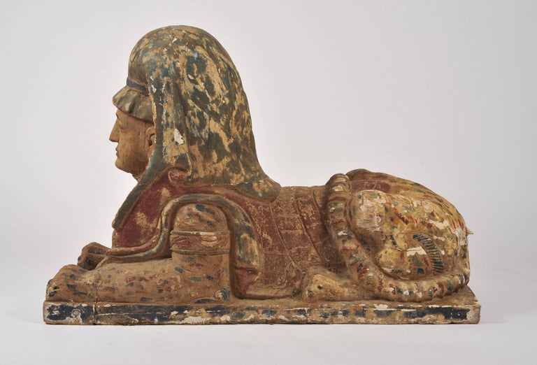 Pair of 19th Century Sphinxes For Sale 2