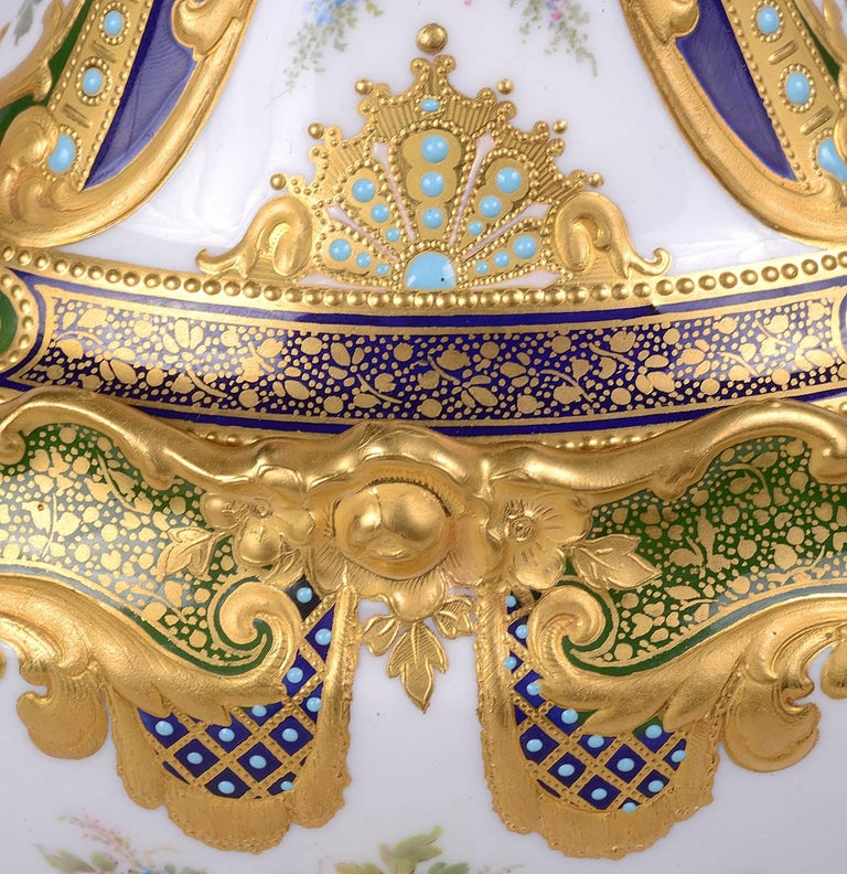 19th Century Royal Crown Derby by Desire Leroy For Sale