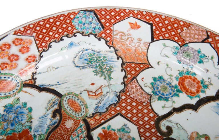 Large Japanese Imari Charger, 19th Century For Sale 5