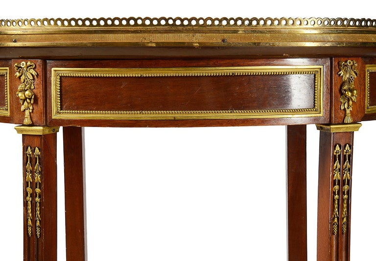 Pair of Late 19th Century French Side Tables For Sale 1