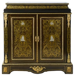 19th Century French Boulle Side Cabinet