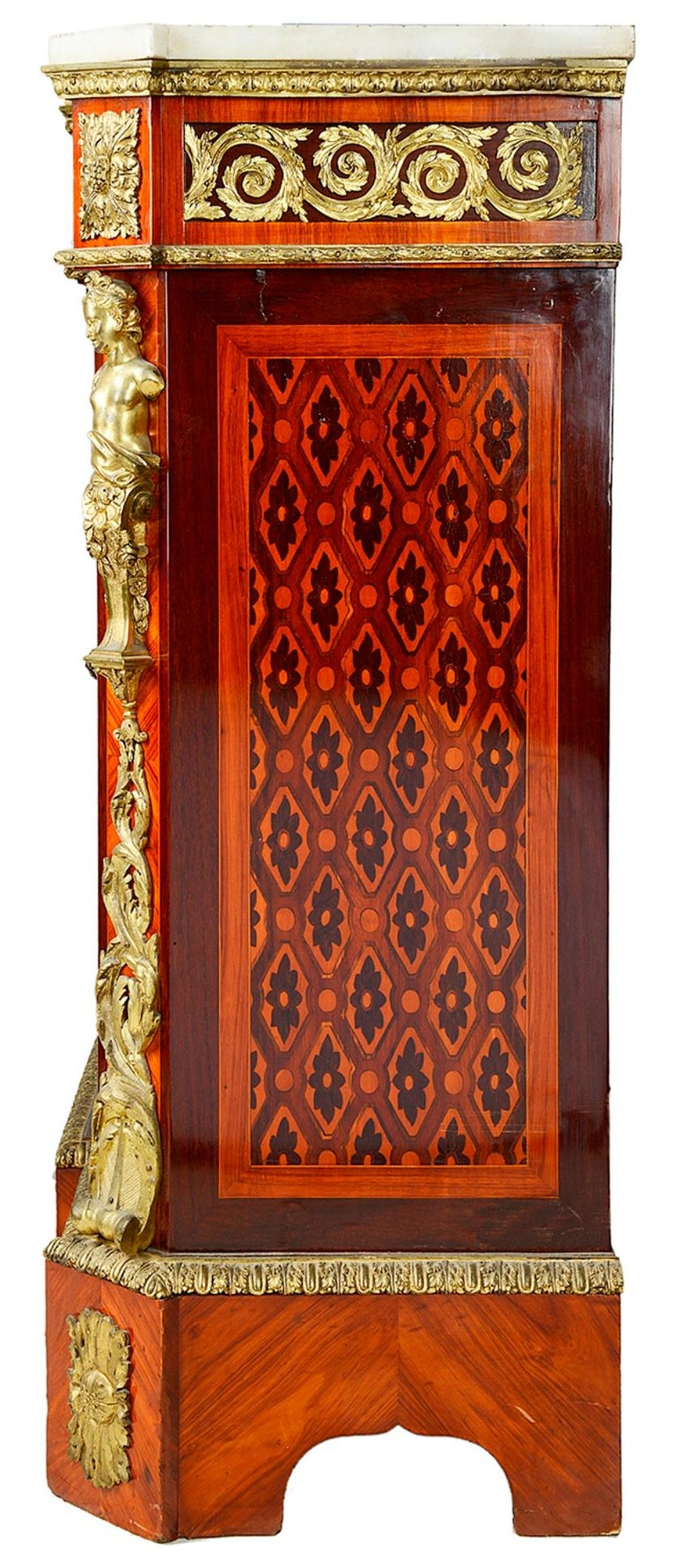 Louis XVI Style Side Cabinet, 19th Century For Sale 3