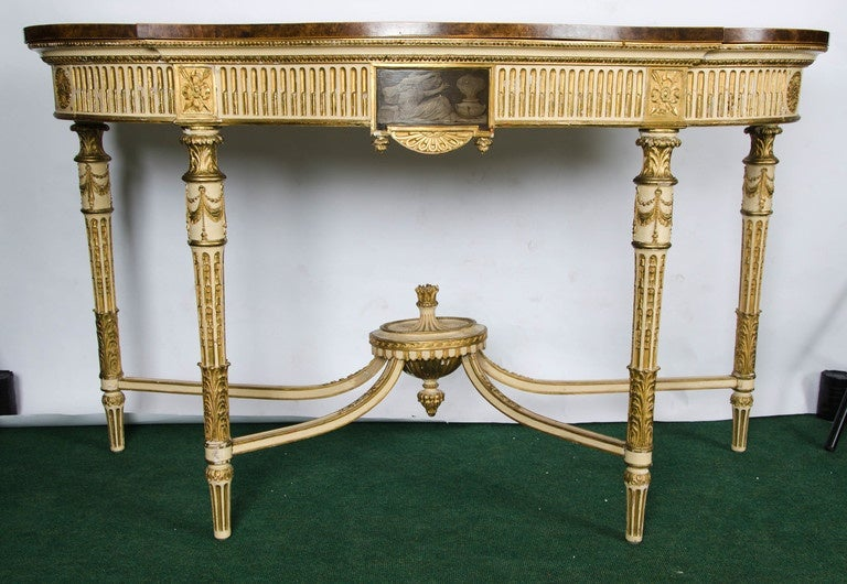 Sheraton style console table for sale at 1stdibs for What is sheraton style furniture