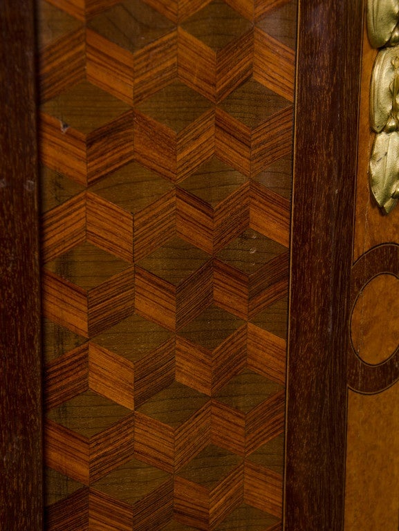 Inlay Pair of Side Cabinets by 'Linke' For Sale