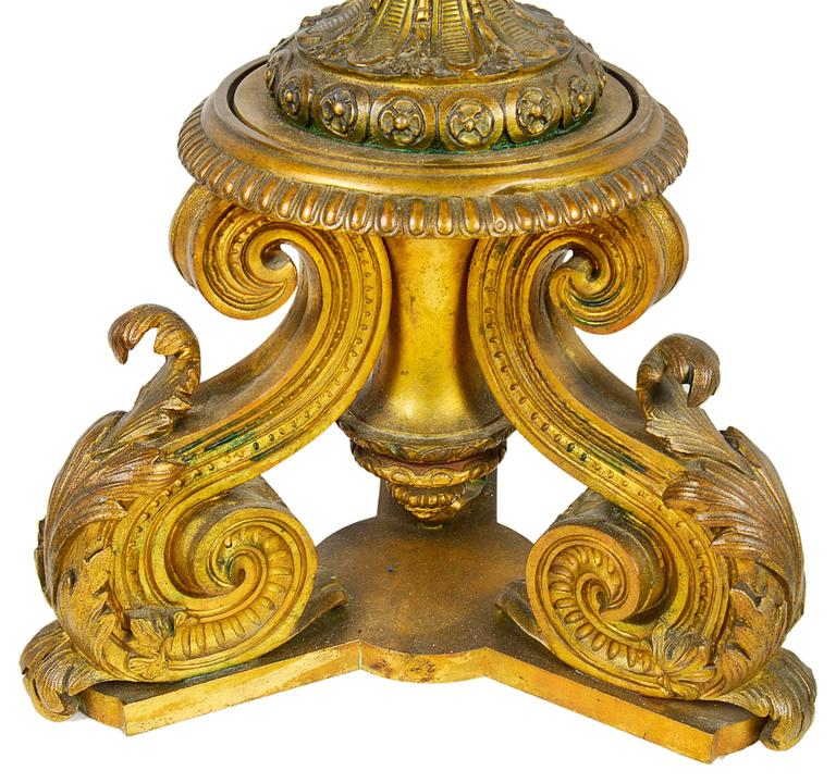 Large Pair of Antique Sevres Candelabra For Sale 2