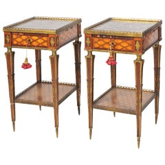 Pair of Donald Ross 19th Century Side Tables