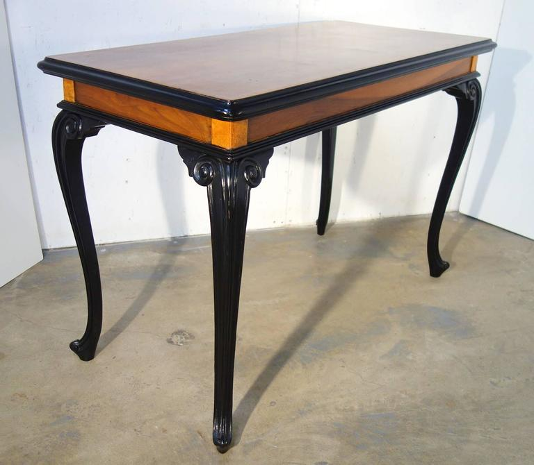19th Century Lombardy Louis XV Style Center Table In Good Condition For Sale In Encinitas, CA