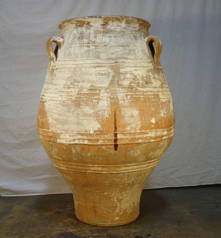 19th Century Antique Large Mediterranean Terracotta