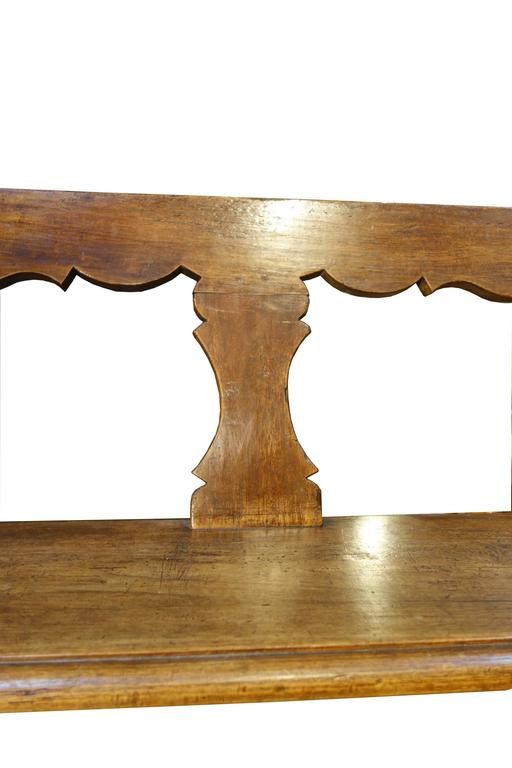 18th Century Antique Italian Tuscan Bench 7