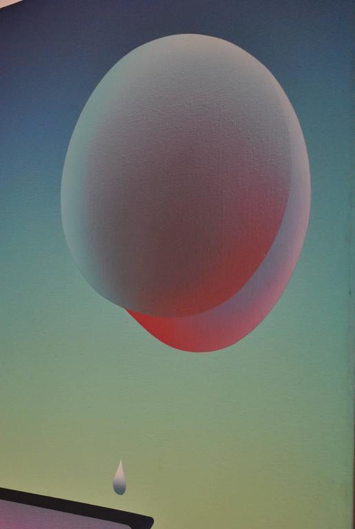 Stefan Knapp painting, 1975 6